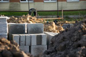 Bloczki do murowania ścian fundamentowych