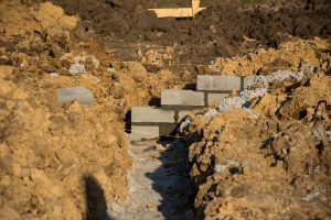 Murowanie ścian fiundamentowych