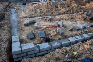 Murowanie ścian fundamentowych