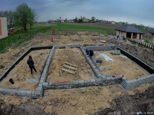 Gotowe murowanie ścian fundamentowych