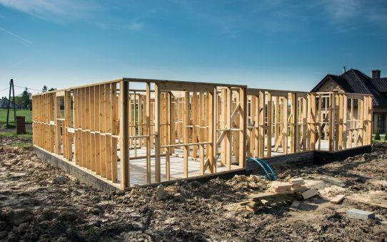 Dzień 18, 19 - konstrukcja ścian domu szkieletowego!