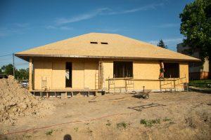 dach przygotowany do pokrycia