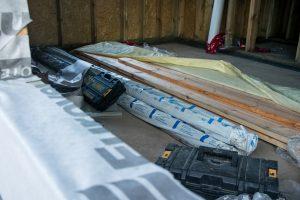 orynnowanie dachu w domu szkieletowym