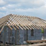 Więźba dachowa garażu