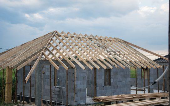 Dzień 49 – 51 – Kabelki i więźba dachowa garażu