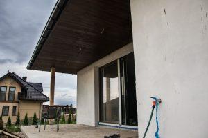 podbitki dachowe dom szkieletowy