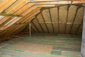 ocieplenie stropu w domu szkieletowym