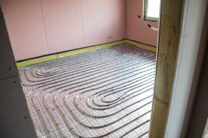 Ogrzewanie podłogowe w domu szkieletowym