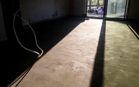 Dzień 89, 90 – Wylewki betonowe i pielęgnacja