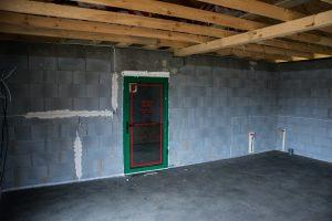 wylewki w garażu